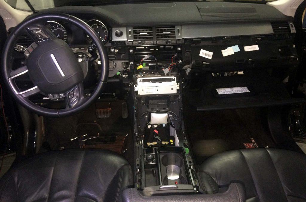 Conserto Air Bag Range Rover Evoque Puretech