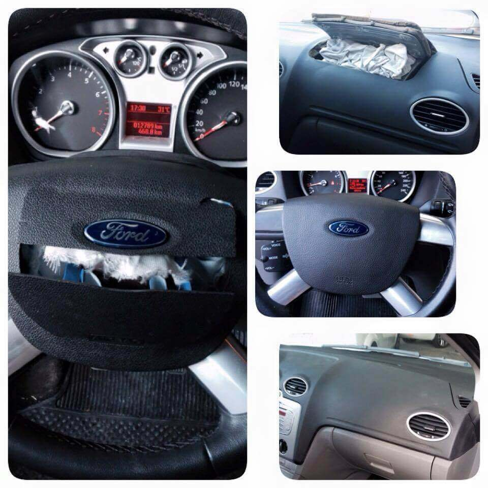 Reparo Air bag Estourado Ford Focus