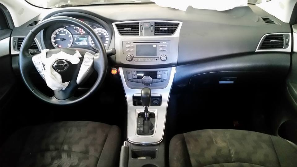 Reparo Air bag Estourado Nissan Sentra