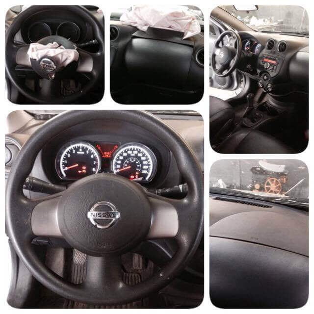 Reparo Air bag Estourado Nissan Versa