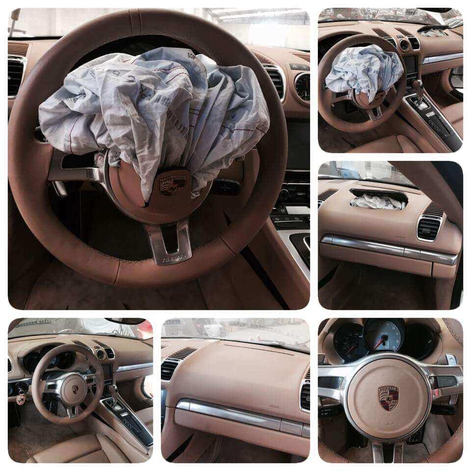 Reparo Air bag Estourado Porsche Cayman